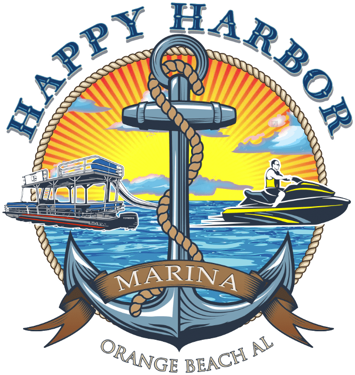 Happy Harbor Marina Logo - Orange Beach, AL