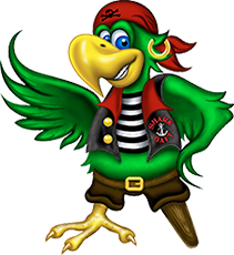 Parrot Character - Happy Harbor