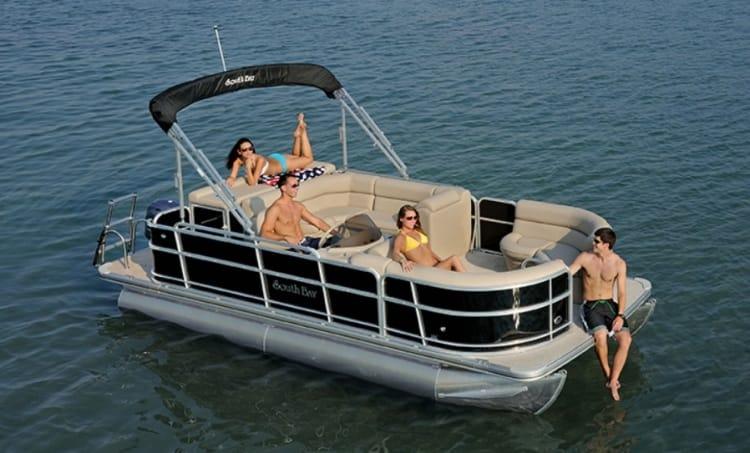 Pontoon Boat Rentals Happy Harbors