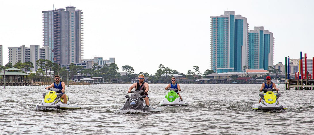 Guided Jet Ski Tours at Happy Harbor in Orange Beach!